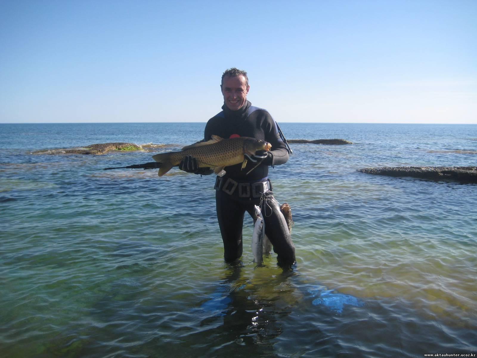 рыбалка в актау зимой